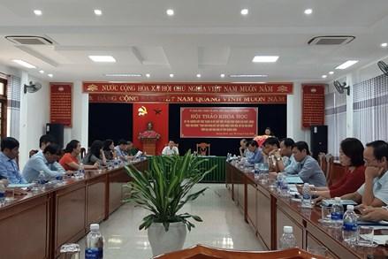 """Quảng Bình: Nâng cao chất lượng Cuộc vận động """"Toàn dân đoàn kết xây dựng nông thôn mới, đô thị văn minh"""""""