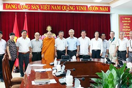 Thường trực Tỉnh ủy Đồng Nai: Gặp gỡ đoàn đại biểu tham dự Đại hội MTTQ Việt Nam lần IX