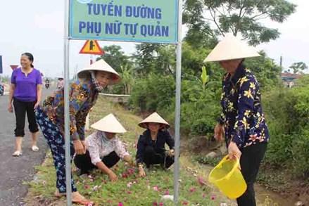 Mặt trận Tổ quốc các cấp huyện Nghĩa Hưng đoàn kết nhân dân xây dựng nông thôn mới