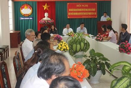 Mặt trận Khánh Hòa trao giải cuộc thi viết chào mừng Đại hội Mặt trận các cấp
