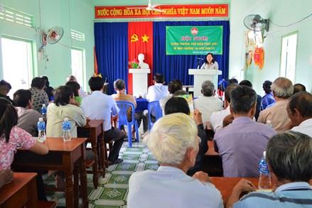 Ninh Thuận: Tuyên truyền, phổ biến pháp luật về môi trường tại khu dân cư