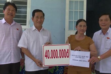 Phú Yên: Bàn giao nhà Đại đoàn kết cho hộ nghèo