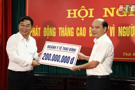 Thái Bình: Hơn 1,1 tỷ đồng ủng hộ người nghèo