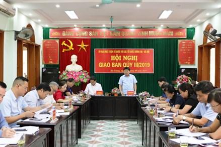 Ủy ban MTTQ tỉnh Hà Giang và các tổ chức chính trị - xã hội giao ban quý III