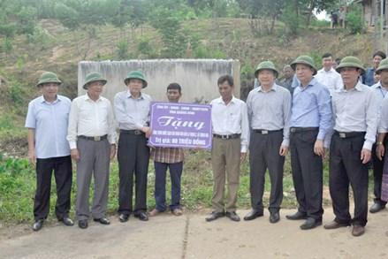Mặt trận Quảng Bình chăm lo cho người nghèo