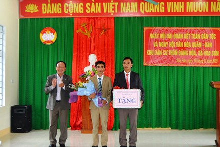 Quảng Bình: Ngày hội Đại đoàn kết toàn dân tộc nơi đại ngàn