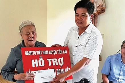 MTTQ huyện Tiền Hải (Thái Bình): Phát huy sức mạnh khối đại đoàn kết toàn dân