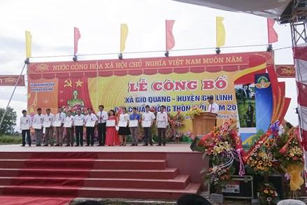 Mặt trận Tổ quốc xã Gio Quang chung tay xây dựng nông thôn mới