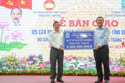 Ủy ban MTTQ Việt Nam tỉnh Sóc Trăng xây dựng những điểm sáng từ các cuộc vận động