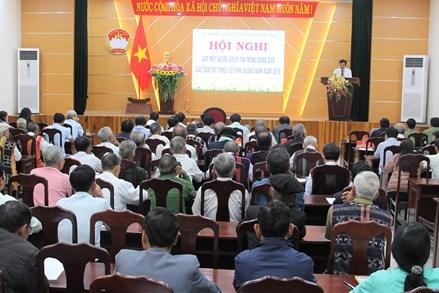 Quảng Nam: Gặp mặt người có uy tín trong đồng bào các dân tộc thiểu số năm 2019