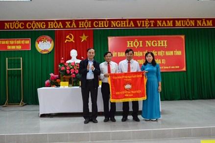 Hội nghị Ủy ban MTTQ Việt Nam tỉnh Ninh Thuận lần thứ 2 (khóa X)