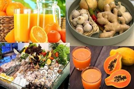 """Dinh dưỡng nâng cao sức đề kháng trong """"mùa"""" dịch nCoV"""