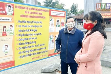 MTTQ huyện Hưng Hà (Thái Bình) chung tay phòng, chống dịch Covid-19