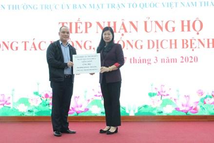 """Ủy ban MTTQ Việt Nam TP Hà Nội hưởng ứng cuộc phát động """"Toàn dân tham gia ủng hộ phòng chống dịch Covid – 19"""""""
