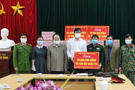 Bắc Giang: Tiếp nhận hỗ trợ chống dịch Covid-19