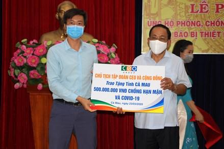 Cà Mau: Kêu gọi hỗ trợ người dân thiếu nước sạch và ủng hộ phòng, chống dịch Covid-19