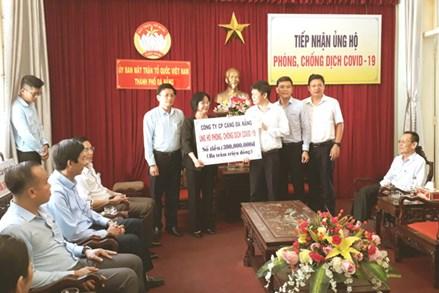 Mặt trận TP Đà Nẵng tiếp nhận hơn 1,5 tỷ đồng ủng hộ phòng, chống dịch Covid-19