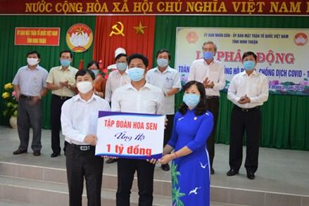 Ninh Thuận: Phát động toàn dân ủng hộ phòng, chống dịch Covid-19