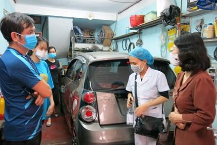 Lãnh đạo Ủy ban MTTQVN thành phố Hải Phòng kiểm tra, nắm bắt tình hình phòng, chống dịch Covid-19 tại khu dân cư và một số cơ sở tôn giáo