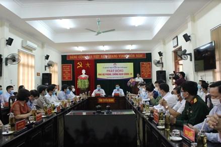 MTTQ tỉnh Tuyên Quang phát động ủng hộ phòng, chống dịch Covid - 19