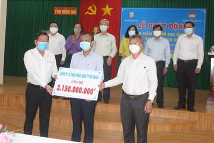 Đồng Nai: Hơn 11 tỷ đồng ủng hộ chống dịch Covid-19