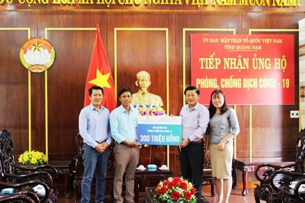 Mặt trận Quảng Nam kêu gọi chống dịch Covid-19