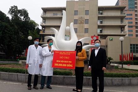 TP Hà Nội đồng hành cùng các bệnh viện trong cuộc chiến chống dịch Covid-19
