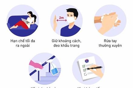 Bộ Y tế đưa ra 10 biện pháp đơn giản để phòng, chống dịch hiệu quả như sau: