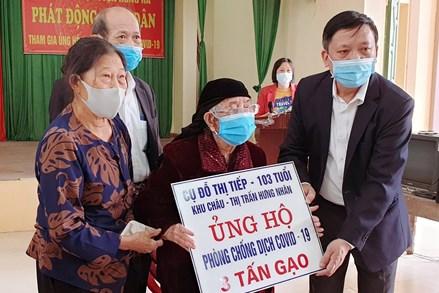 Thái Bình: Nhường cơm xẻ áo trong mùa dịch