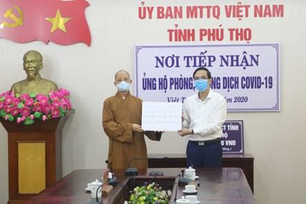 Phú Thọ: 14 tỷ đồng ủng hộ công tác phòng, chống dịch Covid-19