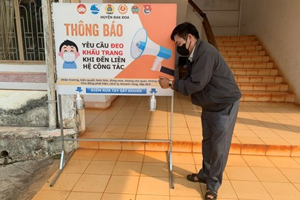 Gia Lai: Nhiều sáng kiến tuyên truyền chống Covid-19 ở vùng đồng bào dân tộc