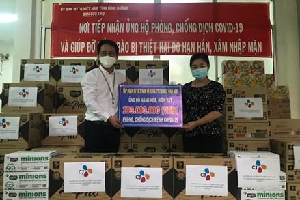 Ủy ban MTTQ Việt Nam tỉnh Bình Dương:Tiếp nhận trên 9,2 tỷ đồng ủng hộ phòng, chống dịch bệnh Covid-19