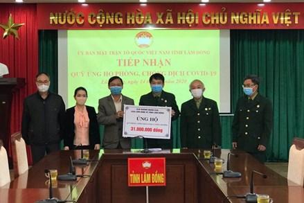 Lâm Đồng: Trên 2,5 tỷ đồng ủng hộ cho Quỹ phòng, chống dịch Covid - 19