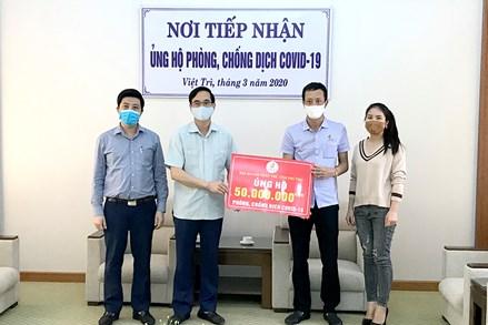 Tỉnh Phú Thọ vận động ủng hộ được gần 15,9 tỷ đồng phòng, chống dịch Covid-19
