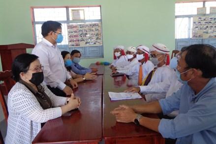 Ninh Thuận: Mặt trận tham gia các Tổ kiểm soát, giám sát phòng, chống dịch Covid-19