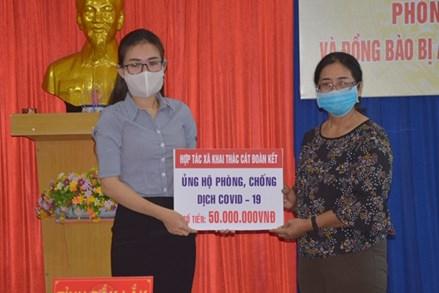 Ủy ban MTTQ tỉnh Lâm Đồng, TP Cần Thơ, Đắk Lắk tiếp nhận ủng hộ phòng chống dịch Covid-19