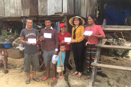 Quảng Bình: Mặt trận hỗ trợ các hộ bị thiệt hại do lốc xoáy
