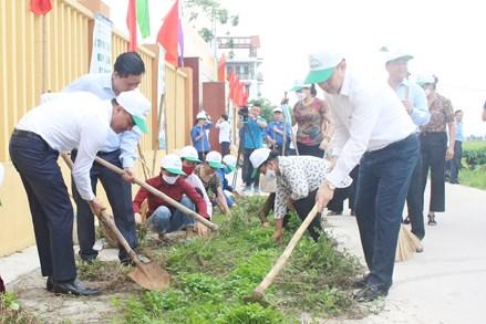 Mặt trận Bắc Ninh ra quân hưởng ứng Ngày Môi trường thế giới