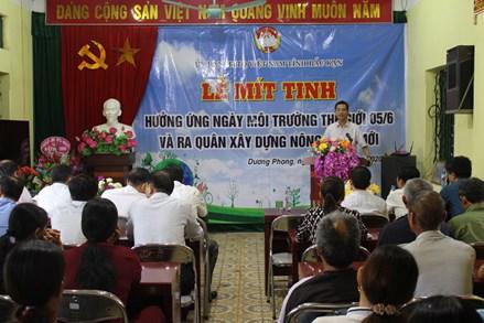 Ủy ban MTTQ tỉnh Bắc Kạn mít tinh hưởng ứng Ngày Môi trường thế giới
