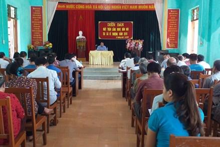 Quang Bình (Hà Giang): Nghe dân nói, nói dân hiểu, làm dân tin