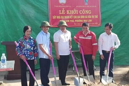 Nghi Sơn (Thanh Hóa): Khởi công xây nhà đại đoàn kết cho hộ nghèo