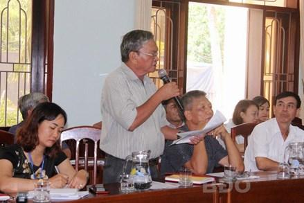 Ủy ban MTTQ tỉnh Bình Định giám sát công tác hỗ trợ người gặp khó khăn do dịch Covid-19