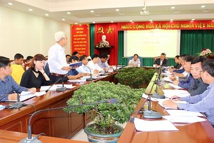 Lâm Đồng: Giao ban công tác Mặt trận 6 tháng đầu năm 2020
