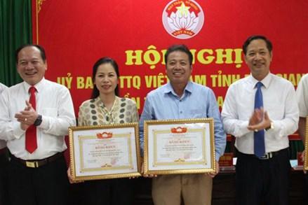 MTTQ Bắc Giang: Triển khai hiệu quả các cuộc vận động, phong trào thi đua do MTTQ phát động và chủ trì