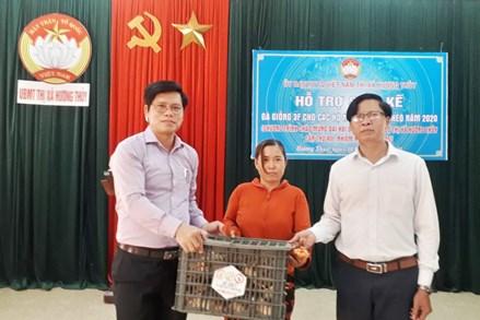Thừa Thiên Huế: Hỗ trợ xây nhà Đại đoàn kết và trao gà giống cho các hộ nghèo, cận nghèo