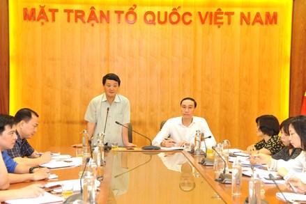Công đoàn cơ quan Trung ương MTTQ Việt Nam sơ kết công tác 6 tháng đầu năm và triển khai nhiệm vụ 6 tháng cuối năm 2020