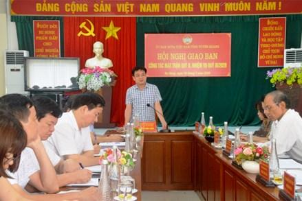 Ủy ban MTTQ tỉnh Tuyên Quang triển khai nhiệm vụ công tác quý III-2020