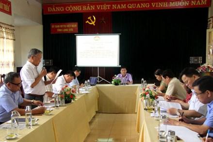 Ủy ban MTTQ Việt Nam tỉnh Lạng Sơn: Phản biện xã hội về dự thảo đề án quản lý công trình thủy lợi