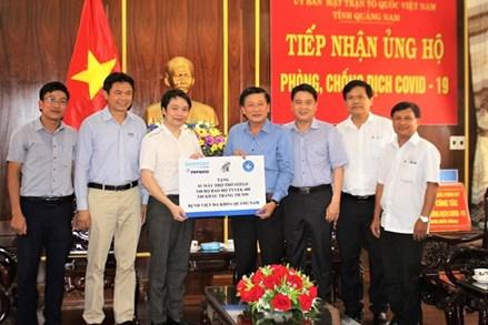 Mặt trận Quảng Nam hỗ trợ 2,5 tỷ đồng phục vụ phòng, chống dịch Covid-19