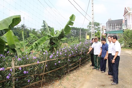 Phát huy vai trò MTTQ trong xây dựng khu dân cư nông thôn mới kiểu mẫu